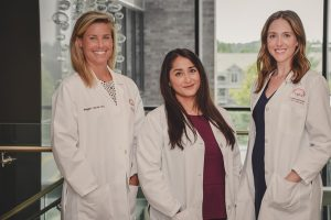 New VPFW OBGYNs Dr. Maggie Lincoln Dr. Annam Abbasi and Dr. Maggie Sager