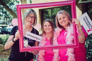 VPFW Mammography team during Breast Cancer Awareness Month